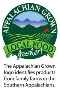 The Appalachian Grown logo identifies products that are grown on family farms in the Southern Appalachians