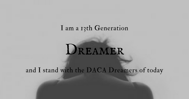 I Am a 13th Generation Dreamer